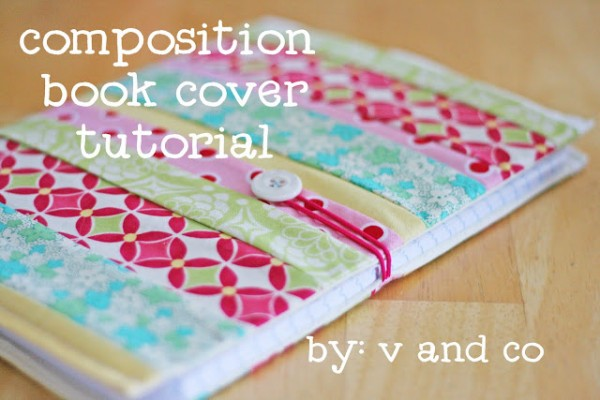 Fabric Book Covers Pattern : Fabric book covers