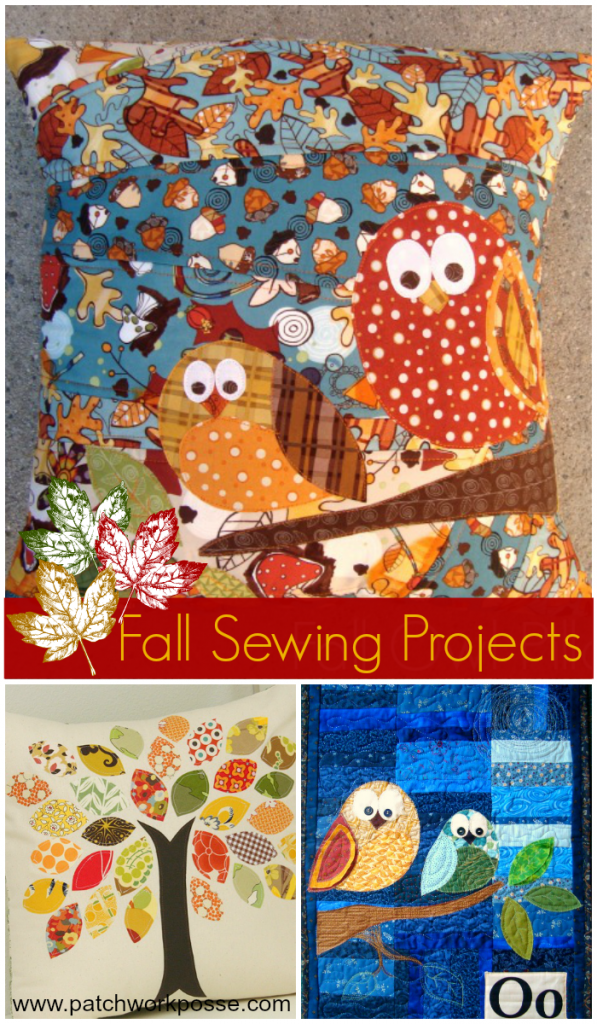 Free Fall Applique Patterns