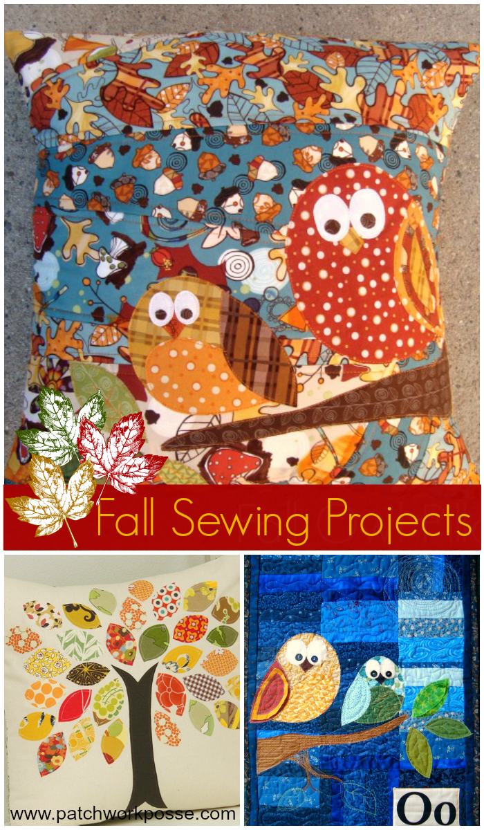Free Fall Applique Templates & Patterns