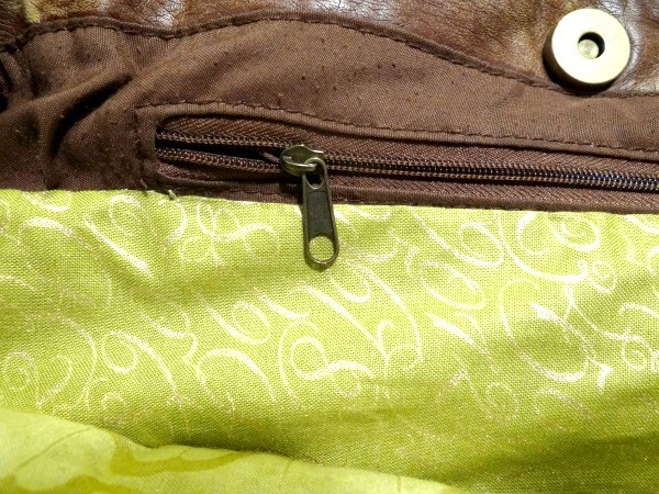 lining of the bag sewing