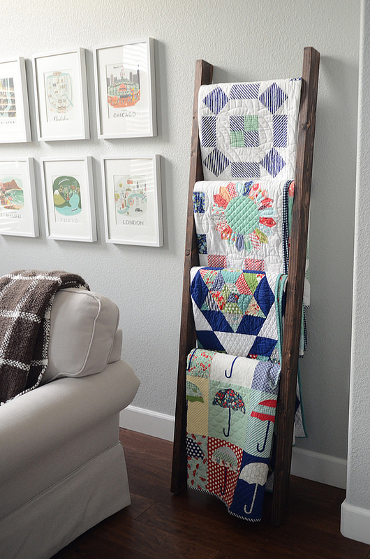 quilt ladder how to diy