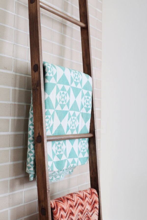 quilt ladder tutorial