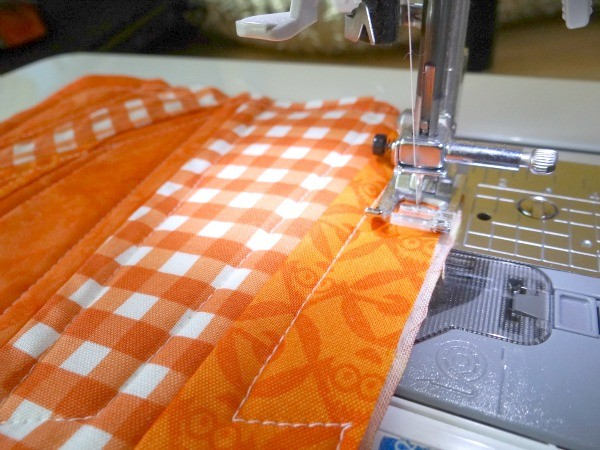 sew around the edge