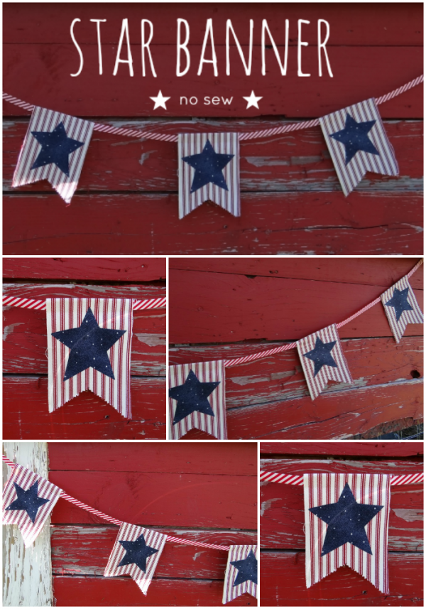 star-banner-no-sew-diy-project