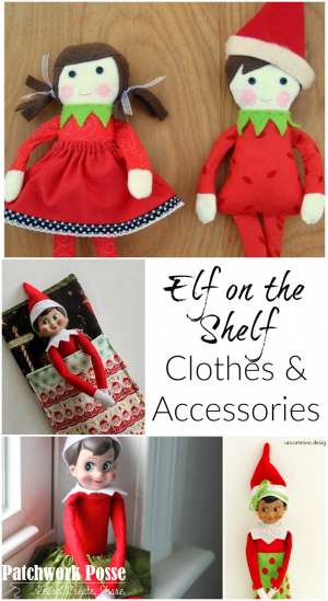 elf on the shelf clothes and accessories you can sew