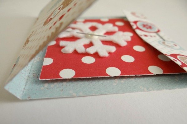 matchbook folded