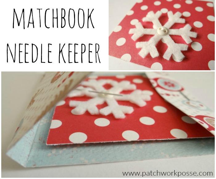 needle keeper matchbook