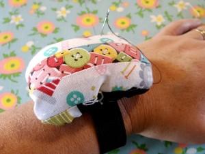 pin cushion wrist pattern
