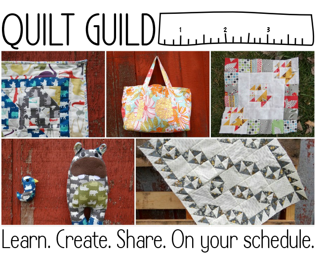 quilt guild membership. Become a member and join us and guest designers. Let's sew the year away!