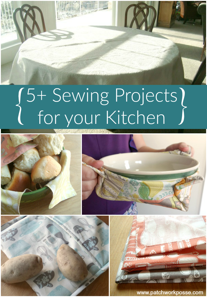 5 sewing projects for the kitchen