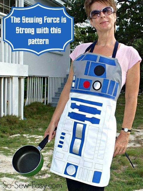 star wars r2d2 apron