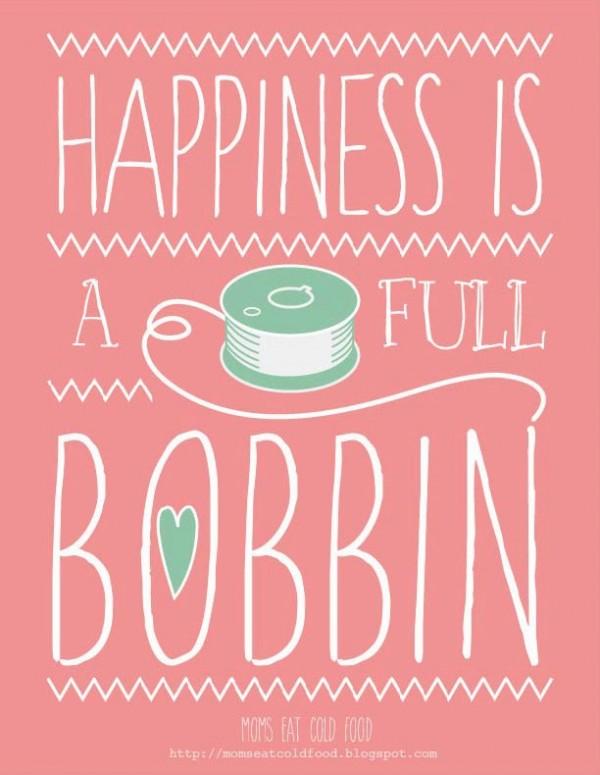 Happiness bobbin2
