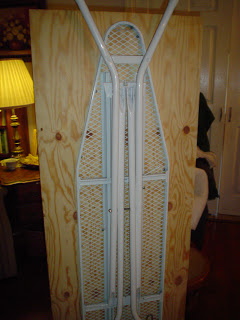build your own ironing board