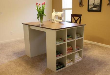 craft table diy project