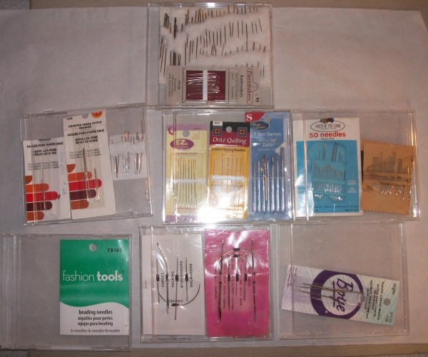 needle storage in a cd case