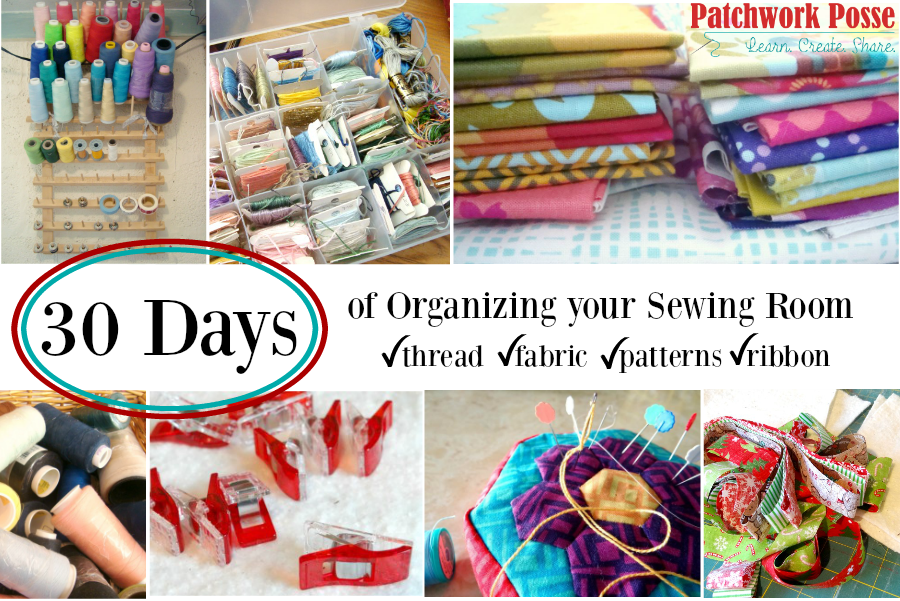 organize your sewing room series