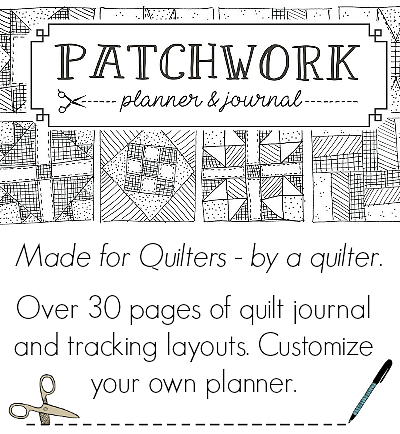 patchwork planner journal sidebar