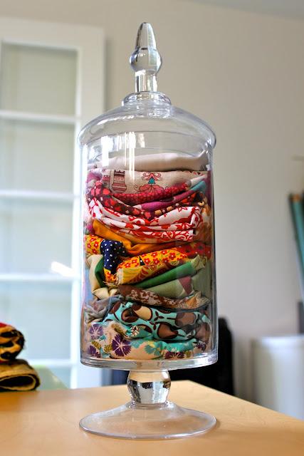 scraps in a jar