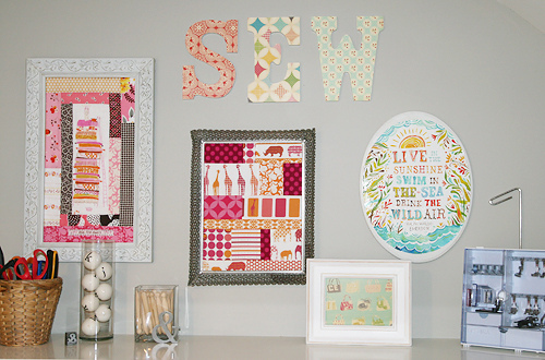 sew wall word