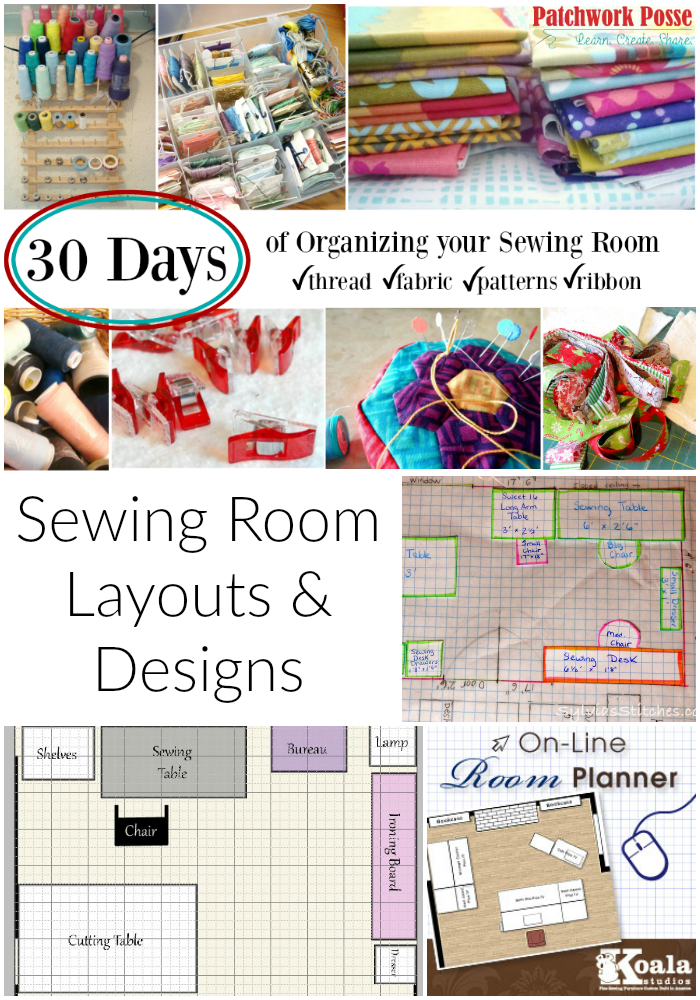 Organize Your Sewing Room And Creative Space. 30 Days Of Ideas And  Inspiration Www. Part 36