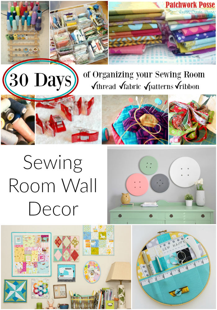 Sewing Room Wall Decor