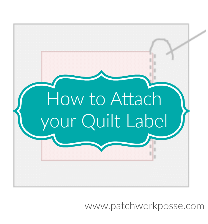 how to attach your quilt label learn quick steps for making sure your quilt is remembered