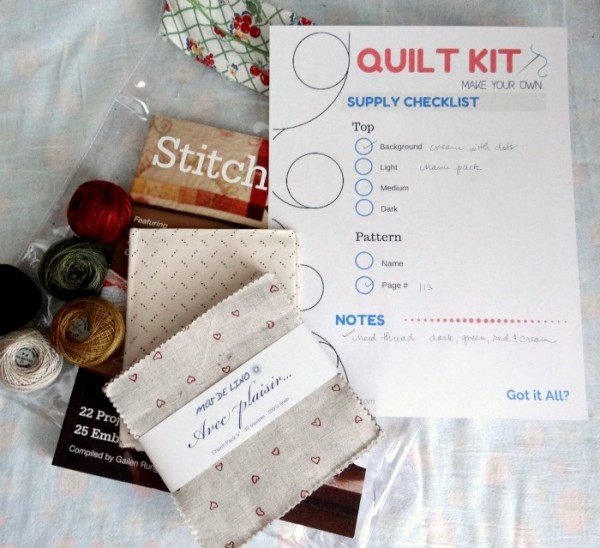 how to make your own quilt kit with printable