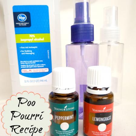 poo pourri recipe for DIY poo spray
