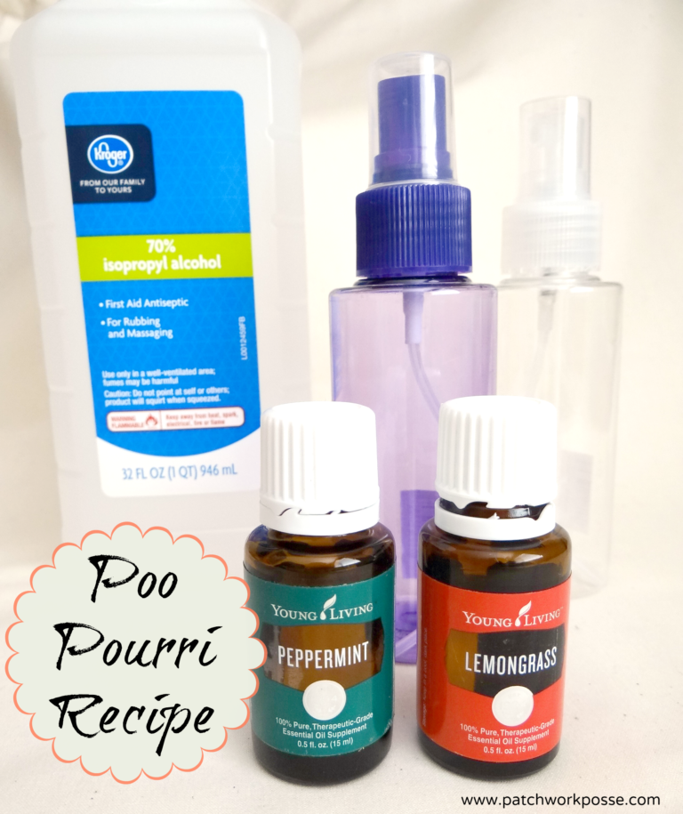 poo pourri recipe for DIY poo spray