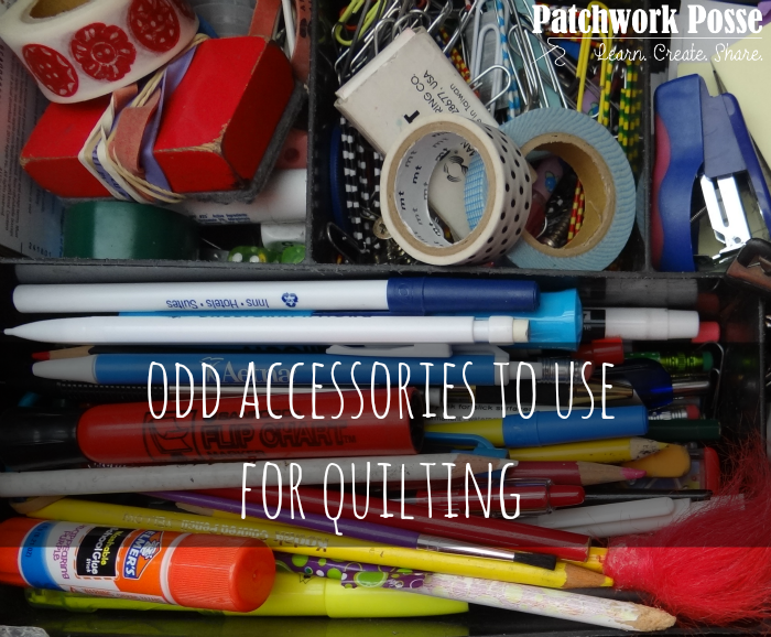 Oddball Accessories to use when Sewing