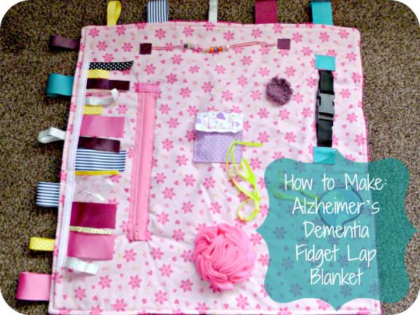 AlzheimersDementia Fidget Lap Blanket