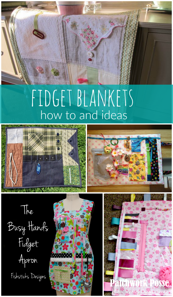 fidget blankets ideas and how tos