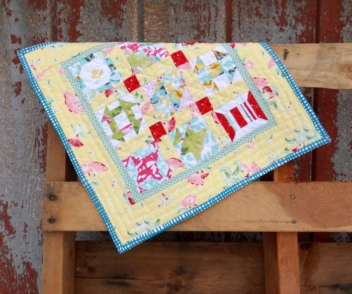 mini sampler block of the month