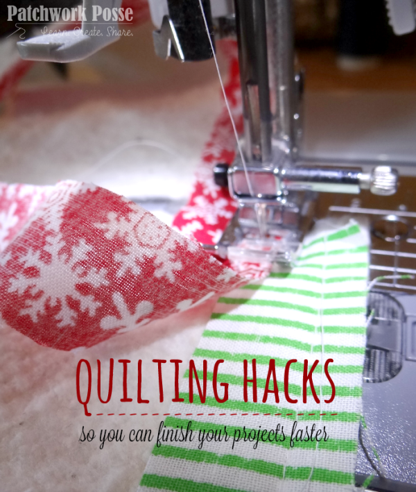 quilt hacks finish your projects