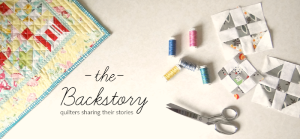 the backstory - stories from quilters from around the world. Come take a listen.