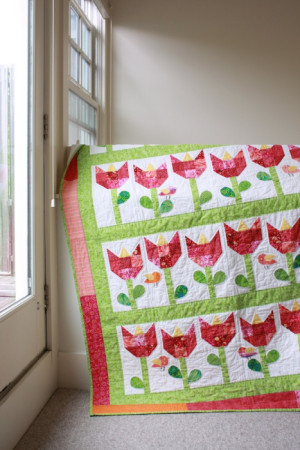 tulip easter sewing project