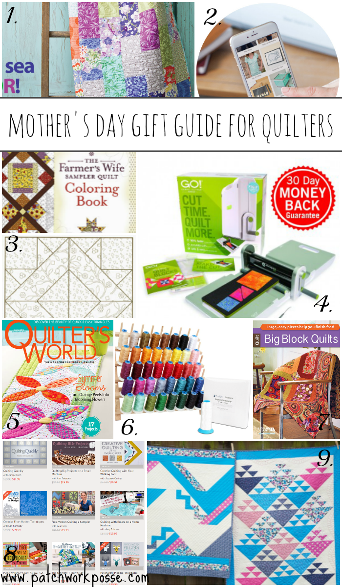 Mothers Day Gift Guide for the Quilter