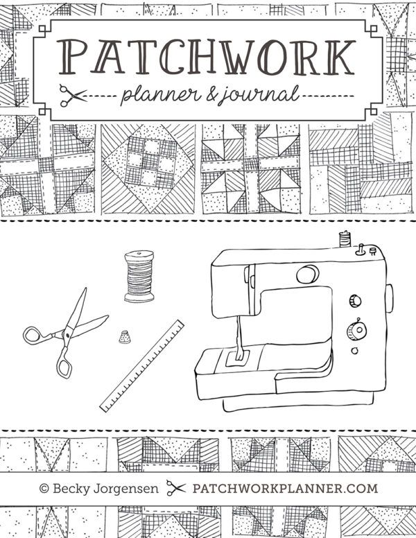 Patchwork Planner - Cover