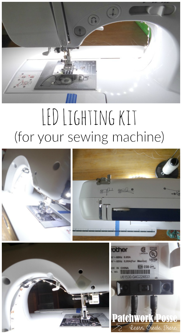 led lighting kit for your sewing machine