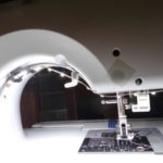 led sewing machine light strip - great for under your sewing machine!