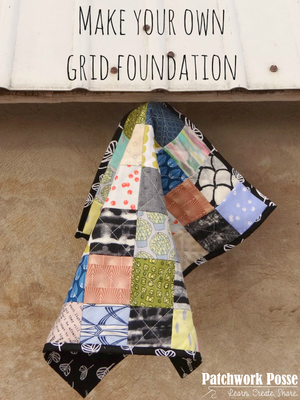 make your own grid foundation