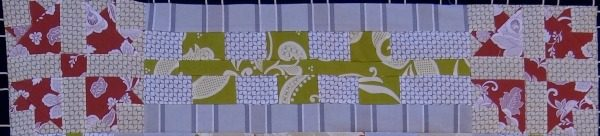 flower border quilt along