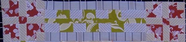 flower border quilt along