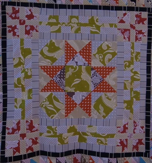 quilt along medallion step 2