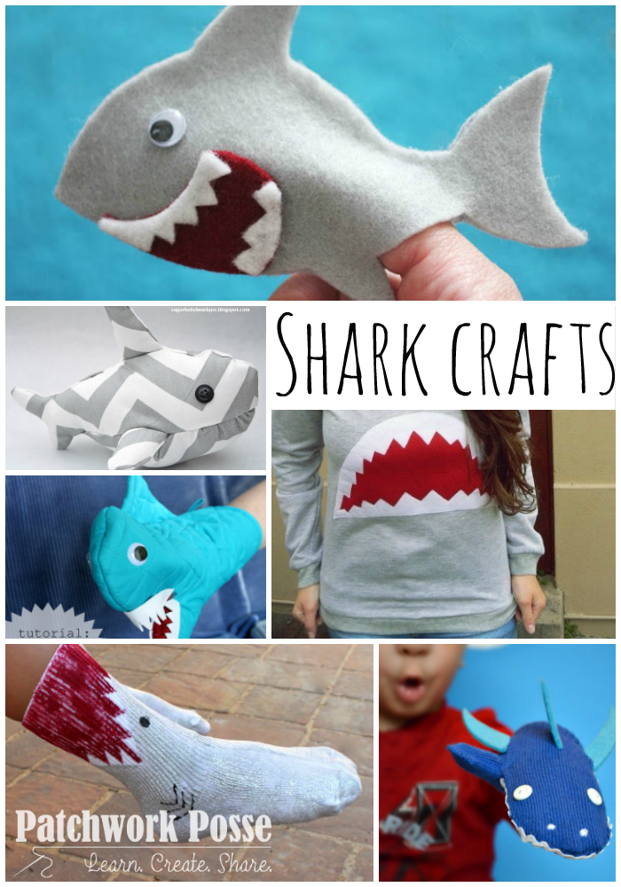 shark crafts for shark week more than 50 to choose from