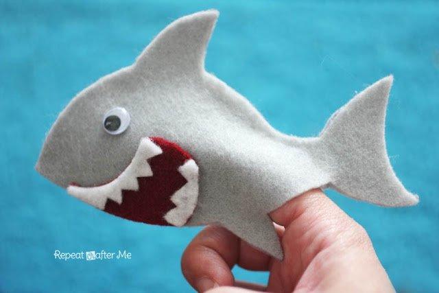 Shark Crafts for Shark Week