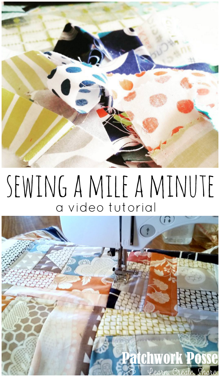 sewing a mile a minute video tutorial