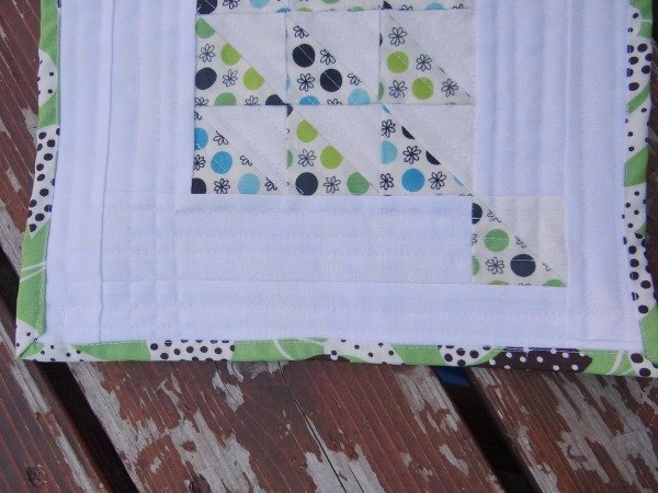 Modern Mini Quilt Tutorial