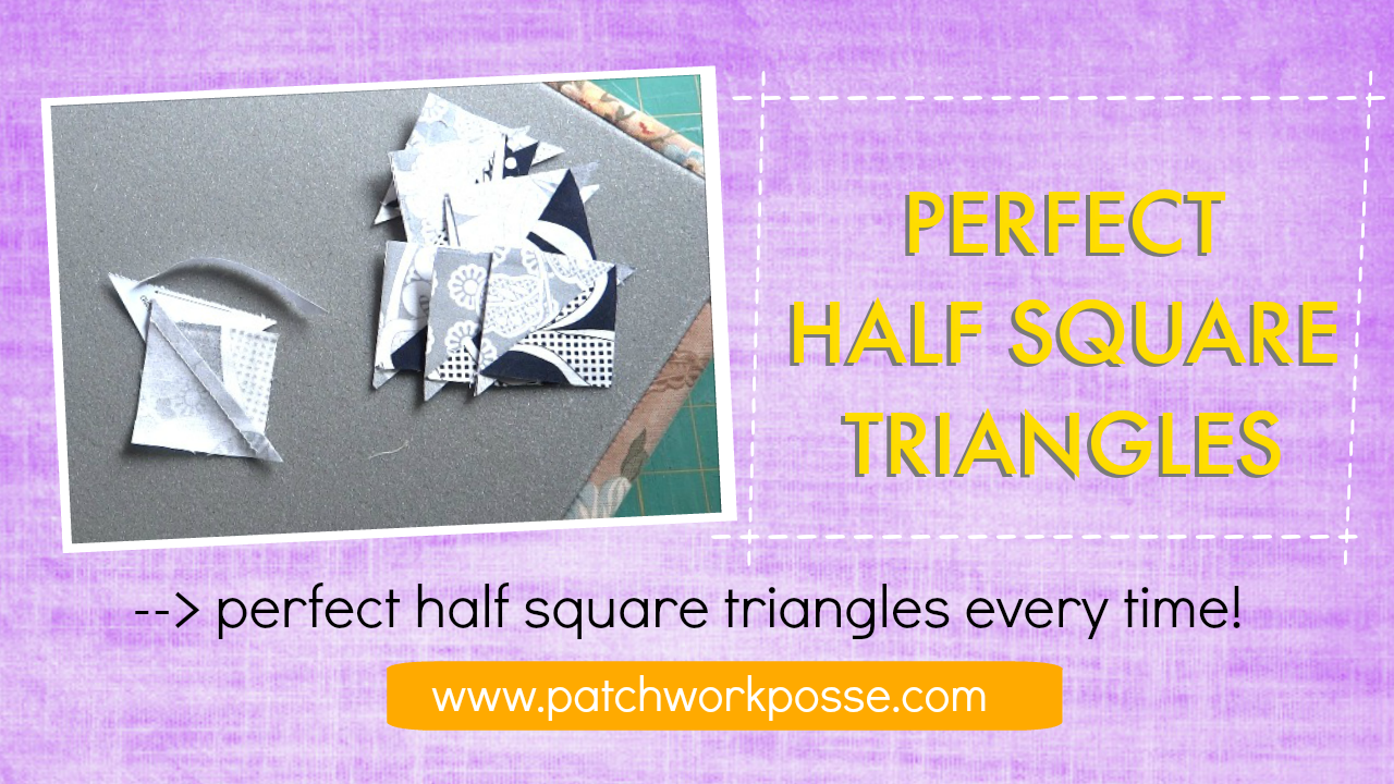 Charm Packs And Half Square Triangles Paper Templates