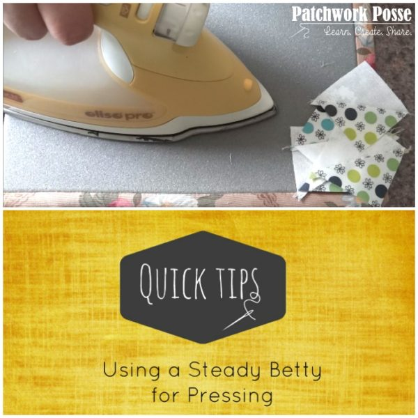 steady betty for pressing - video tutorial